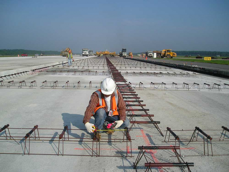 Geotechnical engineering at Dulles runway